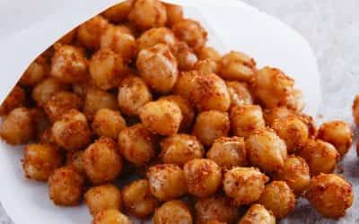 Roasted spicy chickpea recipe