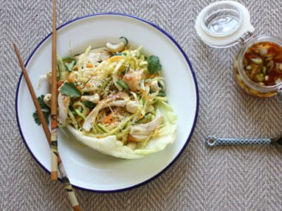 Courgetti chicken noodles