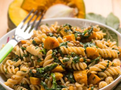 Pumpkin and spinach pasta sauce recipe