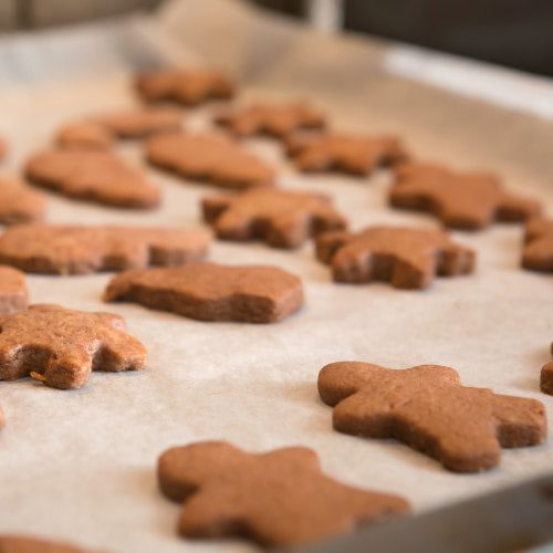 Healthy Ginger Bread Men