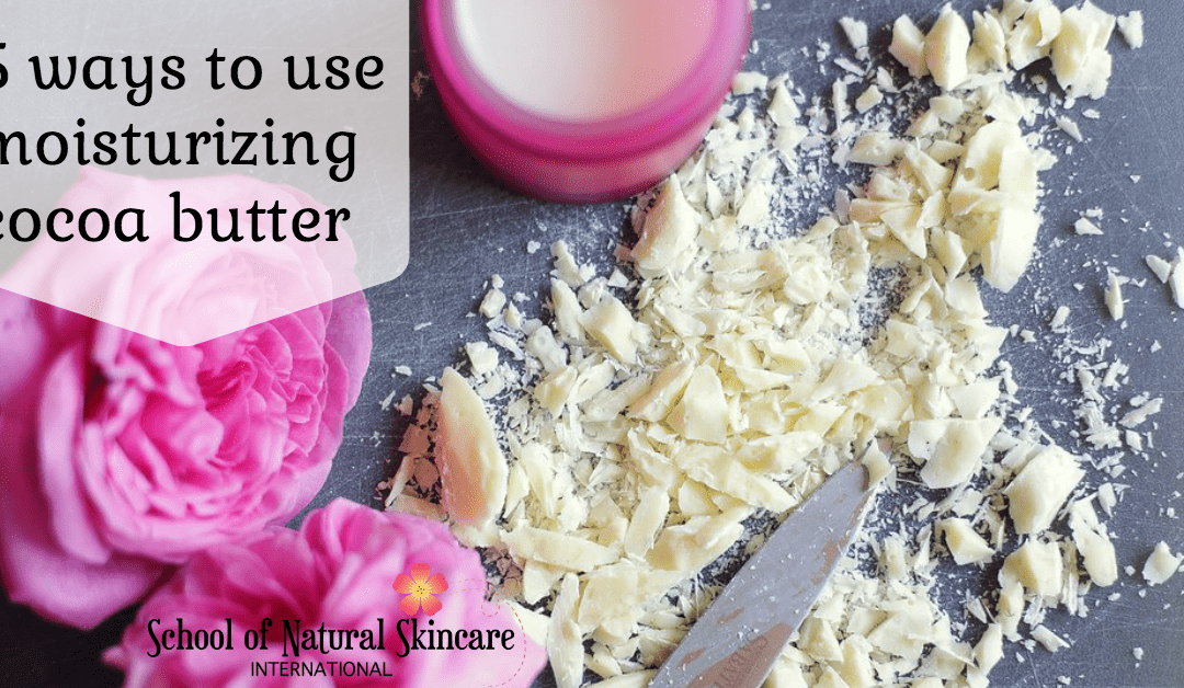 5 ways to use nourishing cocoa butter (plus a free recipe!)
