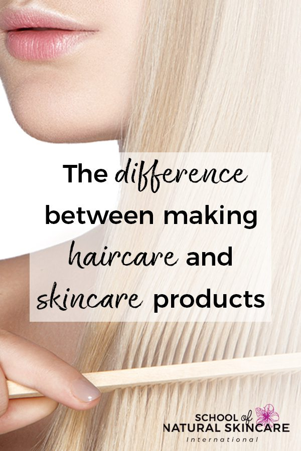 The Difference Between Making Haircare and Skincare Products Haircare Formulation