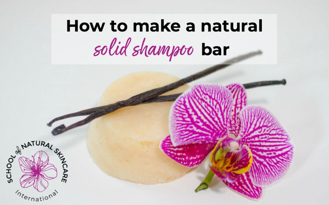 How To Make Natural Shampoo Bars | School of Natural Skincare