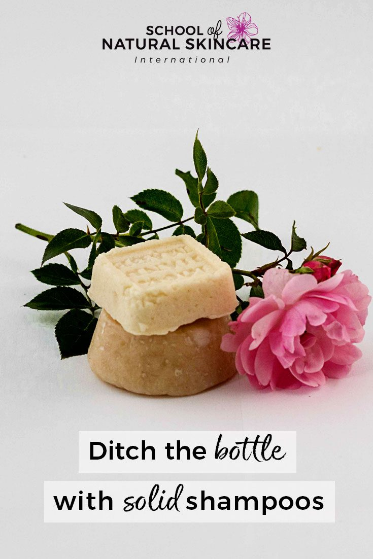 Ditch the Bottle with Solid Shampoo Bars! Haircare Formulation