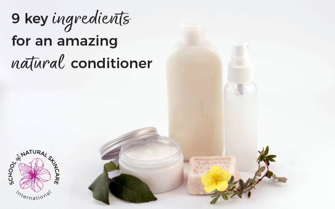 9 Key Ingredients for an Amazing Natural Conditioner
