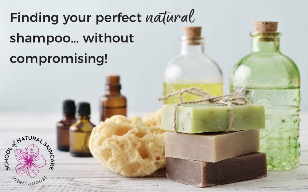 Finding Your Perfect Natural Shampoo… Without Compromising!