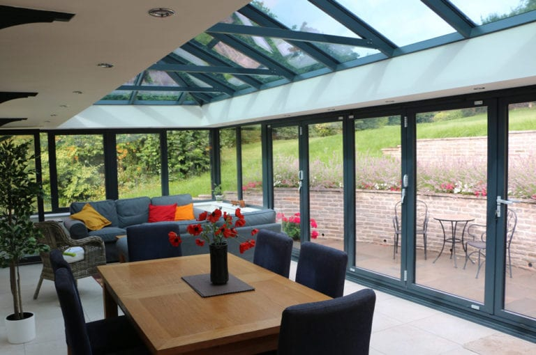 Jones-Chew-Magna-55-Glazed extension from MPS in Devon
